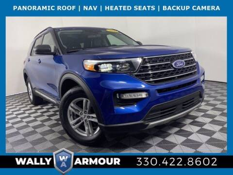 2020 Ford Explorer for sale at Wally Armour Chrysler Dodge Jeep Ram in Alliance OH