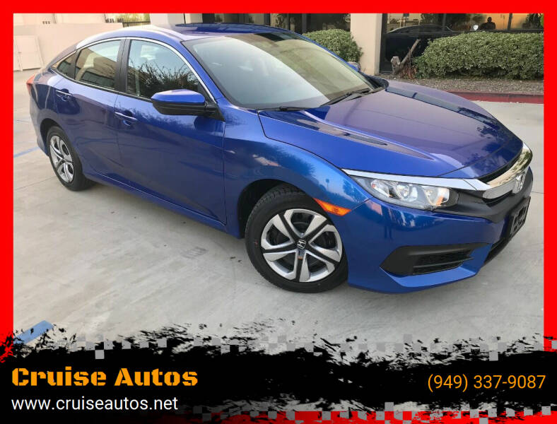 2018 Honda Civic for sale at Cruise Autos in Corona CA