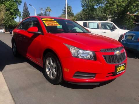 2014 Chevrolet Cruze for sale at Devine Auto Sales in Modesto CA