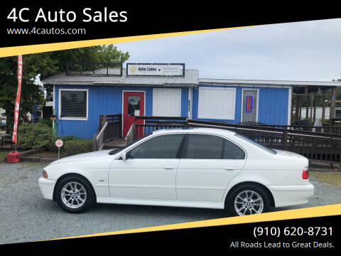 2003 BMW 5 Series for sale at 4C Auto Sales in Wilmington NC