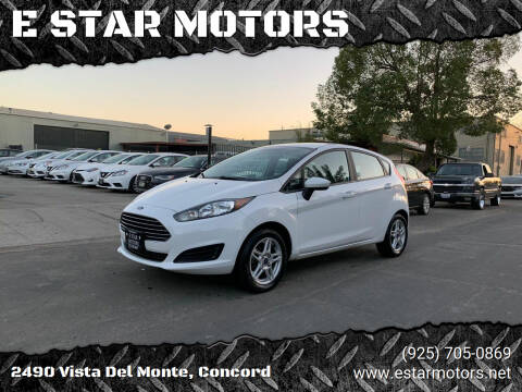 2017 Ford Fiesta for sale at E STAR MOTORS in Concord CA