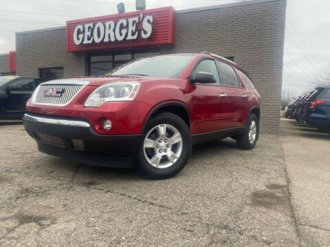 2012 GMC Acadia for sale at George's Used Cars - Telegraph in Brownstown MI