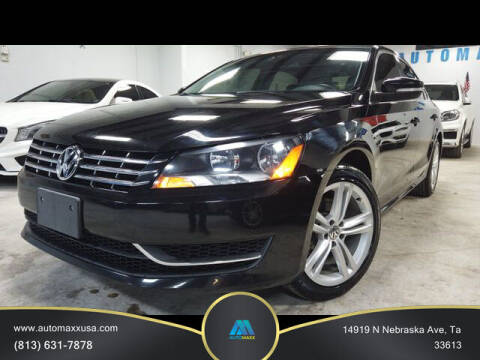 2014 Volkswagen Passat for sale at Automaxx in Tampa FL