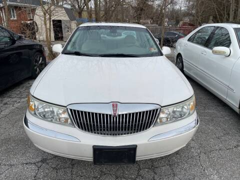 2002 Lincoln Continental for sale at Certified Motors in Bear DE