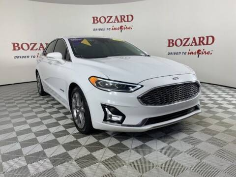 2019 Ford Fusion Hybrid for sale at BOZARD FORD in Saint Augustine FL