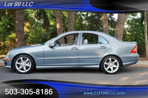 2007 Mercedes-Benz C-Class for sale at LOT 99 LLC in Milwaukie OR
