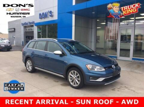 2017 Volkswagen Golf Alltrack for sale at DON'S CHEVY, BUICK-GMC & CADILLAC in Wauseon OH