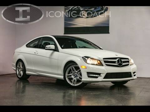 2013 Mercedes-Benz C-Class for sale at Iconic Coach in San Diego CA