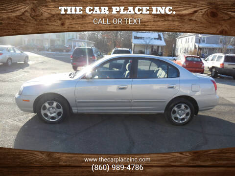 2003 Hyundai Elantra for sale at THE CAR PLACE INC. in Somersville CT