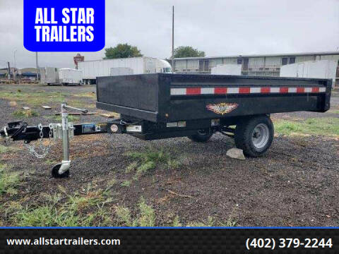 2020 H&H 8 FOOT DUMPBOX for sale at ALL STAR TRAILERS Dump Boxes in , NE