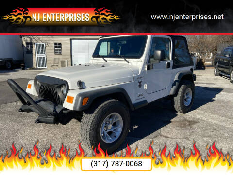 2005 Jeep Wrangler for sale at NJ Enterprises in Indianapolis IN