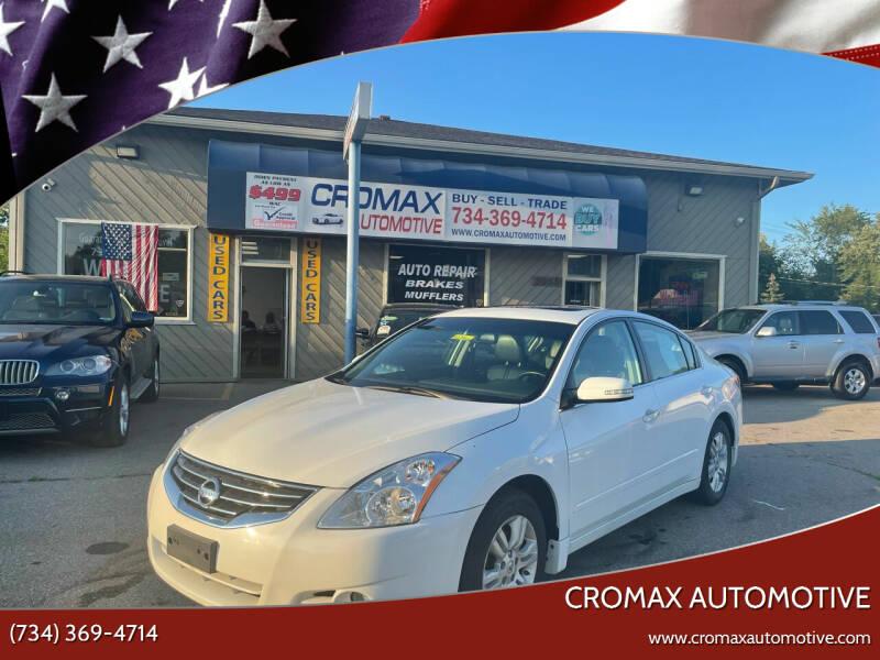 2012 Nissan Altima for sale at Cromax Automotive in Ann Arbor MI