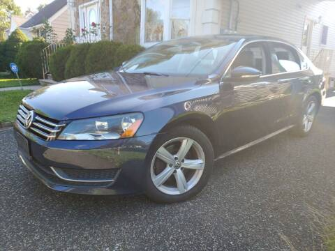2012 Volkswagen Passat for sale at CRS 1 LLC in Lakewood NJ