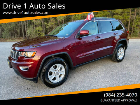 2017 Jeep Grand Cherokee for sale at Drive 1 Auto Sales in Wake Forest NC