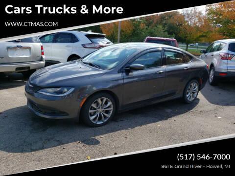 2016 Chrysler 200 for sale at Cars Trucks & More in Howell MI