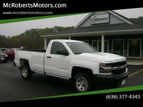 2016 Chevrolet Silverado 1500 for sale at McRobertsMotors.com in Warrenton MO