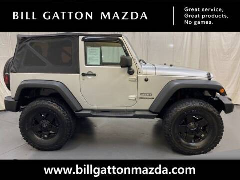 2011 Jeep Wrangler for sale at Bill Gatton Used Cars - BILL GATTON ACURA MAZDA in Johnson City TN