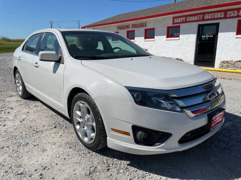 2010 Ford Fusion for sale at Sarpy County Motors in Springfield NE