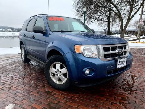 2010 Ford Escape for sale at PUTNAM AUTO SALES INC in Marietta OH