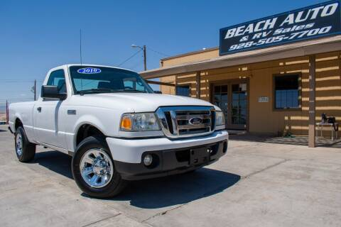 2010 Ford Ranger for sale at Beach Auto and RV Sales in Lake Havasu City AZ