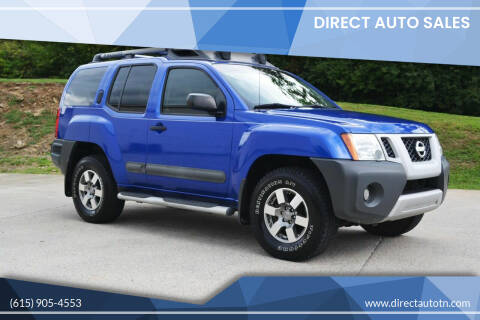 2012 Nissan Xterra for sale at Direct Auto Sales in Franklin TN