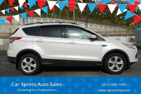 2013 Ford Escape for sale at Car Xpress Auto Sales in Pittsburgh PA