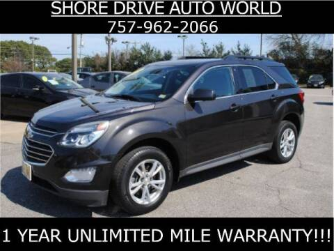 2016 Chevrolet Equinox for sale at Shore Drive Auto World in Virginia Beach VA