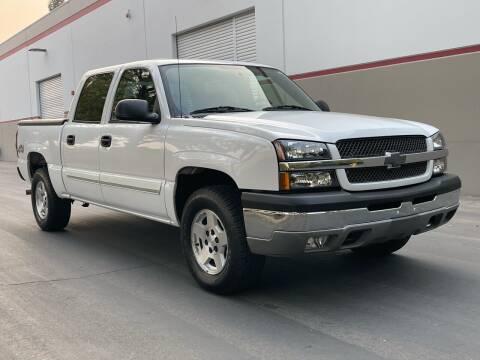 2004 Chevrolet Silverado 1500 for sale at COUNTY AUTO SALES in Rocklin CA
