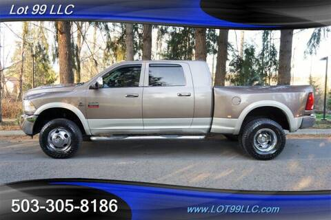 2010 Dodge Ram Pickup 3500 for sale at LOT 99 LLC in Milwaukie OR