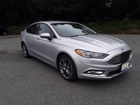 2017 Ford Fusion for sale at Strosnider Chevrolet in Hopewell VA