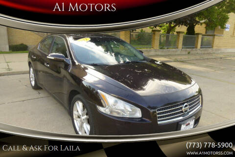 2011 Nissan Maxima for sale at A1 Motors Inc in Chicago IL