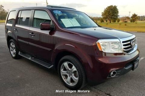 2014 Honda Pilot for sale at Matt Hagen Motors in Newport NC