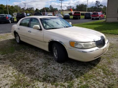 1998 Lincoln Town Car for sale at Straight Line Motors LLC in Fort Wayne IN