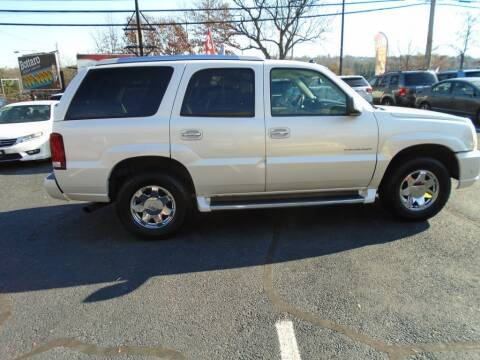 2003 Cadillac Escalade for sale at Gemini Auto Sales in Providence RI