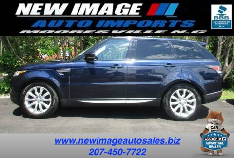 2016 Land Rover Range Rover Sport for sale at New Image Auto Imports Inc in Mooresville NC