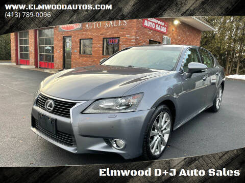2014 Lexus GS 350 for sale at Elmwood D+J Auto Sales in Agawam MA