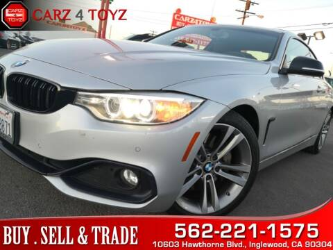 2015 BMW 4 Series for sale at Carz 4 Toyz in Inglewood CA