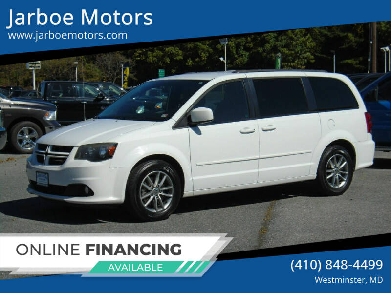 2014 Dodge Grand Caravan for sale at Jarboe Motors in Westminster MD
