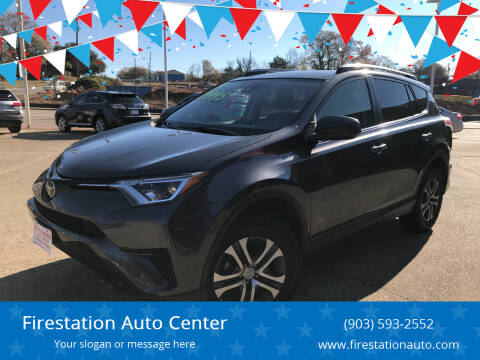 2017 Toyota RAV4 for sale at Firestation Auto Center in Tyler TX