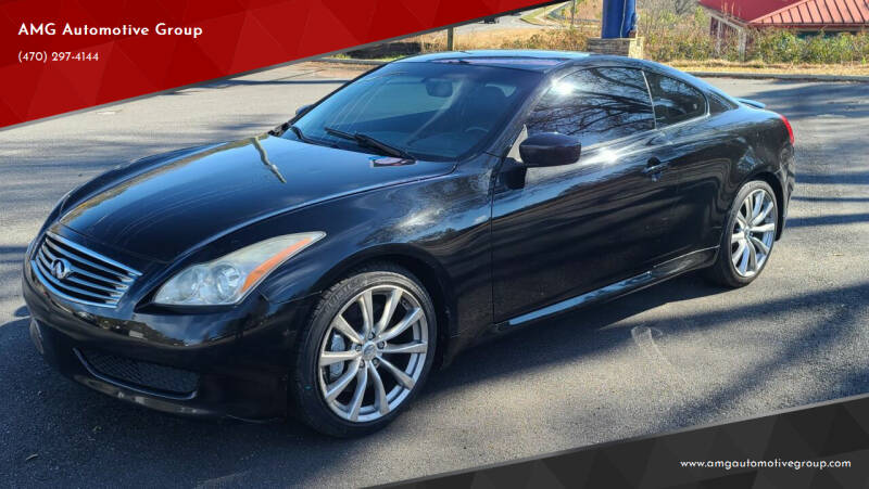 2008 Infiniti G37 for sale at AMG Automotive Group in Cumming GA