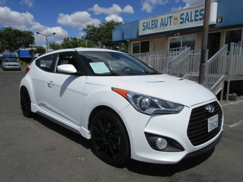 2013 Hyundai Veloster for sale at Salem Auto Sales in Sacramento CA
