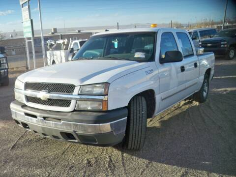 2005 Chevrolet Silverado 1500 for sale at Samcar Inc. in Albuquerque NM