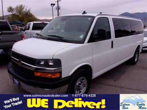 2019 Chevrolet Express Passenger for sale at QUALITY MOTORS in Salmon ID