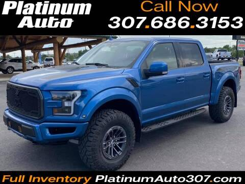 2019 Ford F-150 for sale at Platinum Auto in Gillette WY