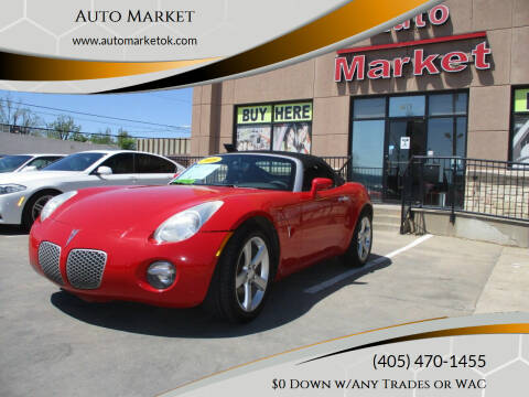 2008 Pontiac Solstice for sale at Auto Market in Oklahoma City OK