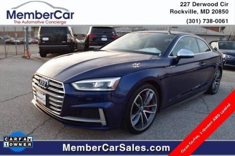 2018 Audi S5 for sale at MemberCar in Rockville MD