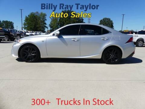 2015 Lexus IS 250 for sale at Billy Ray Taylor Auto Sales in Cullman AL