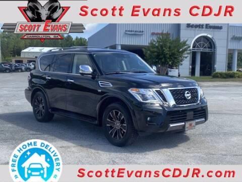 2020 Nissan Armada for sale at SCOTT EVANS CHRYSLER DODGE in Carrollton GA