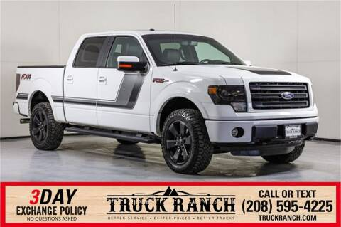 2014 Ford F-150 for sale at Truck Ranch in Twin Falls ID