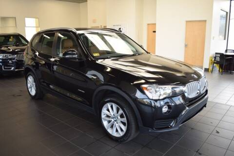 2017 BMW X3 for sale at BMW OF NEWPORT in Middletown RI
